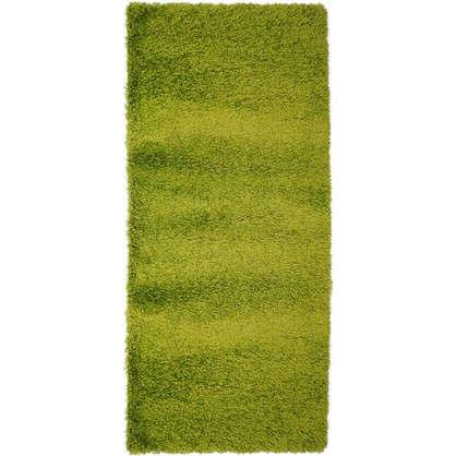 Ковер Shaggy Ultra 1х2 м полипропилен цвет зеленый