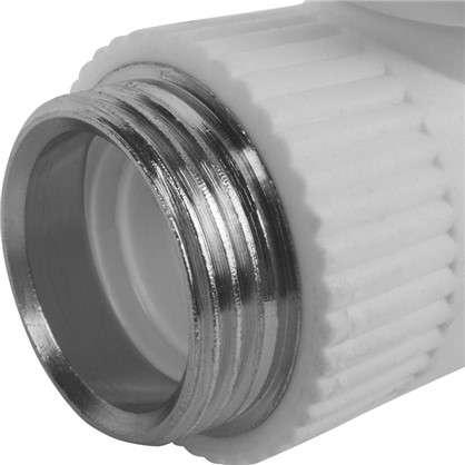 Кран для радиатора РВК прямой 25х3/4 наружная резьба полипропилен
