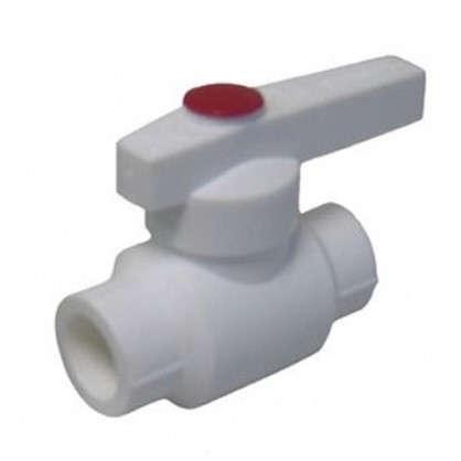 Кран шаровый d 25 мм полипропилен