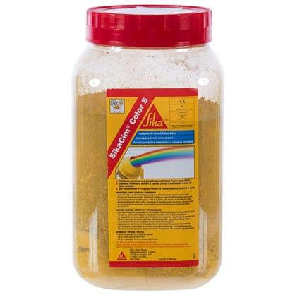 Краситель для бетона и смесей Sika SikaCim Color 0.4 кг цвет жёлтый