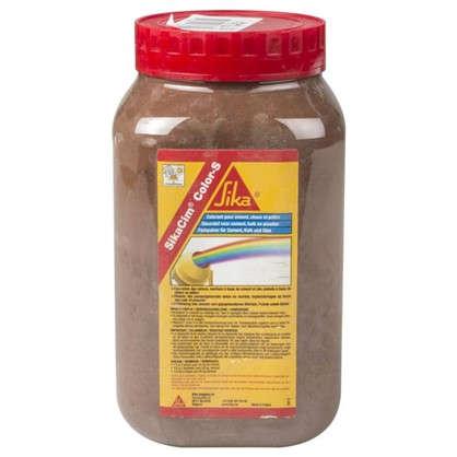 Купить Краситель для бетона и смесей Sika SikaCim Color 0.7 кг цвет коричневый дешевле