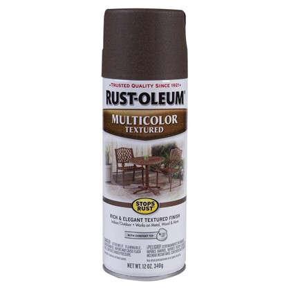 Краска аэрозольная многоцветная осенне-коричневая 0.34 кг