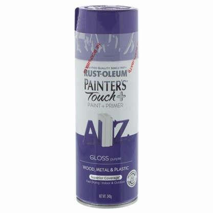 Краска аэрозольная Paint Touch глянцевая цвет фиолетовый 340 г