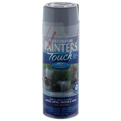 Купить Краска аэрозольная Paint Touch глянцевая цвет серый 340 г дешевле