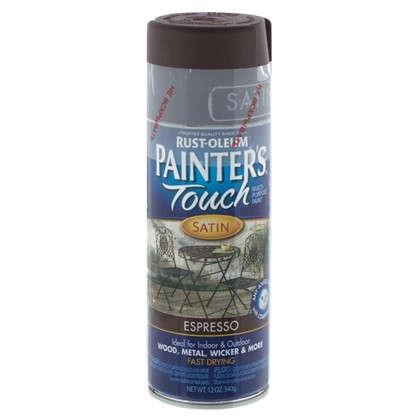 Купить Краска аэрозольная Paint Touch полуматовая цвет эспрессо 340 г дешевле