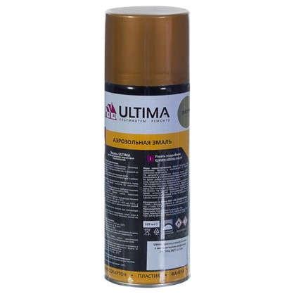 Краска аэрозольная Ultima цвет латунь металическая