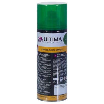 Краска аэрозольная Ultima цвет листва зеленая RAL 6002
