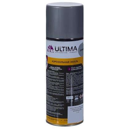 Краска аэрозольная Ultima цвет серебряный металик