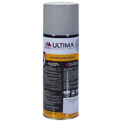Краска аэрозольная Ultima цвет серый RAL 7040