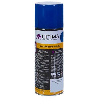 Краска аэрозольная Ultima цвет синий RAL 5005