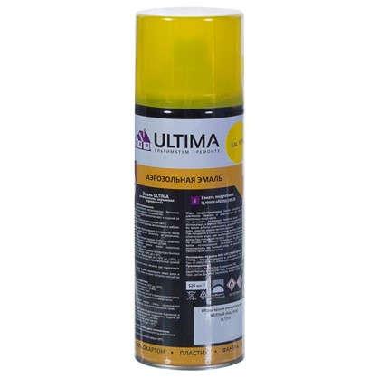 Купить Краска аэрозольная Ultima цвет желтый RAL 1018 дешевле