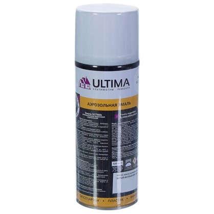 Краска аэрозольная Ultima матовая цвет белый RAL 9003