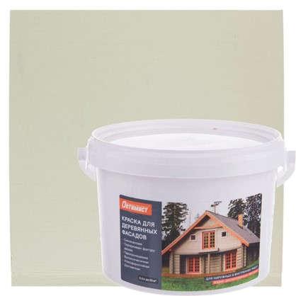Краска для деревянных фасадов Оптимист база А 2.5 л