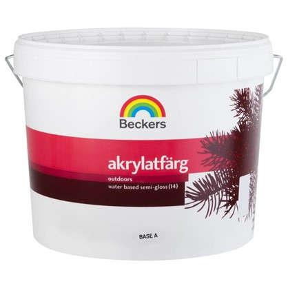 Купить Краска для фасадов Beckers Akrylatfarg 9 л дешевле