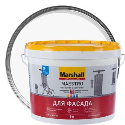 Краска для фасадов Marshall Maestro BW 9 л