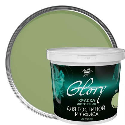 Купить Краска для гостинной Glory 0.9 л цвет лавровый лист дешевле