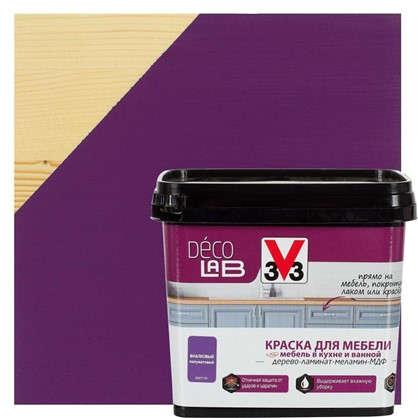 Купить Краска для мебели V33 Decolab цвет фиалковый 0.75 л дешевле