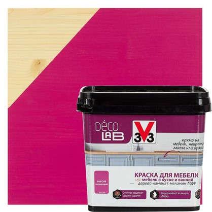 Краска для мебели V33 Decolab цвет фуксии 0.75 л