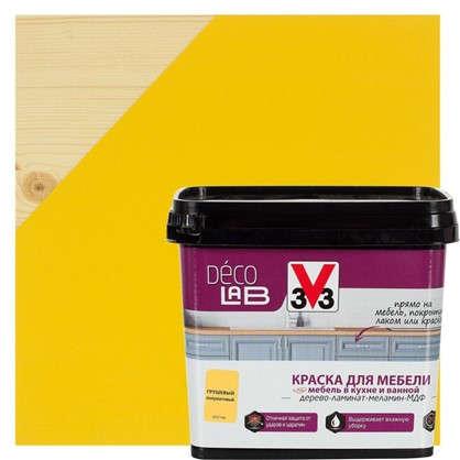 Краска для мебели V33 Decolab цвет грушевый 0.75 л