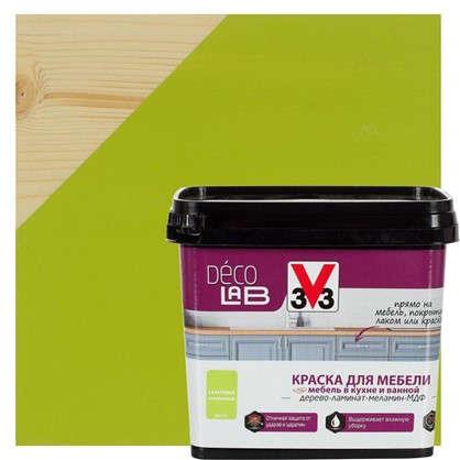 Купить Краска для мебели V33 Decolab цвет салатовый 0.75 л дешевле