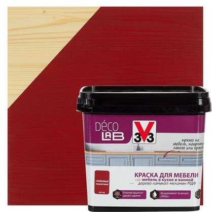 Краска для мебели V33 Decolab цвет сливовый 0.75 л