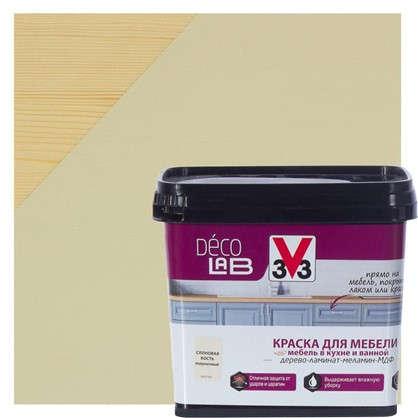Краска для мебели V33 Decolab цвет слоновая кость 0.75 л