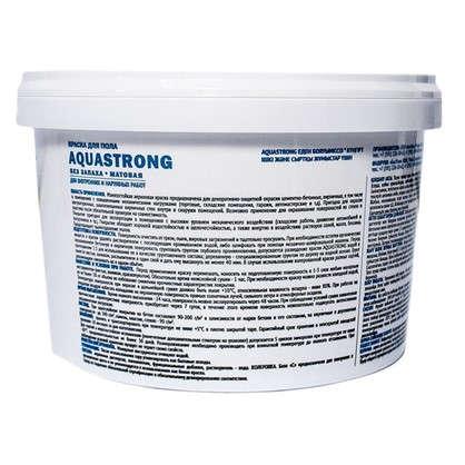 Купить Краска для пола Aquastrong 2 кг цвет коричневый дешевле