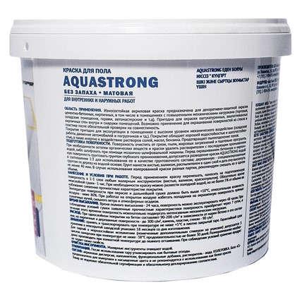 Краска для пола Aquastrong 6 кг цвет серый