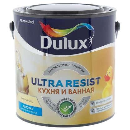 Купить Краска для ванной комнаты и кухни Dulux Ultra Resist цвет янтарный мед 2.5 л дешевле