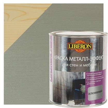 Краска металл-эффект V33 цвет алюминиевый 1 л