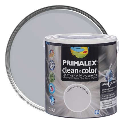 Краска PR-X Clean&Color 25 л Геометрический серый