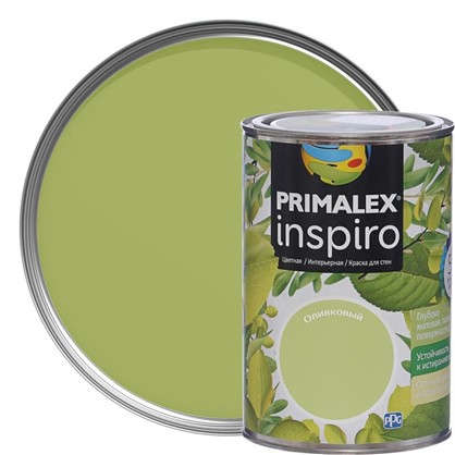 Краска Primalex Inspiro 1 л Оливковый