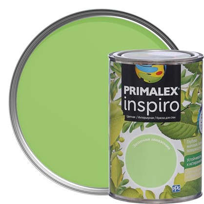 Купить Краска Primalex Inspiro 1 л Зеленая Амазония дешевле