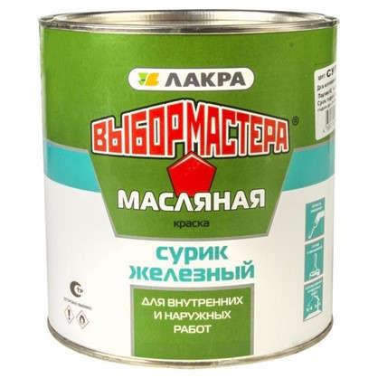 Краска Выбор Мастера сурик железный 3 кг