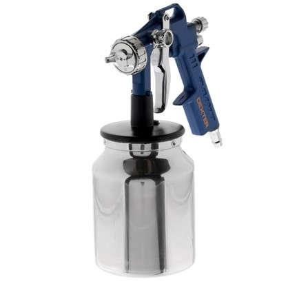 Краскораспылитель с нижним бачком Dexter 1 л алюминиевый