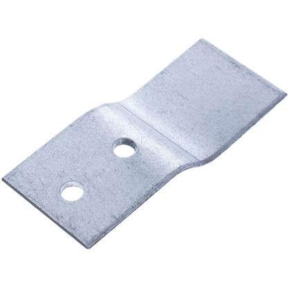 Крепеж для легких ванн 65х28х20 мм сталь 4шт.