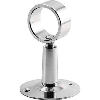 Крепление для полотенцесушителя телескопическое 3/4 хромированная латунь
