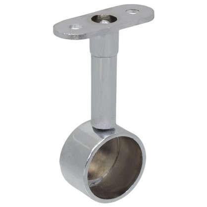 Купить Крепление труб к стене торцевая регулировка 25 мм цвет хром дешевле
