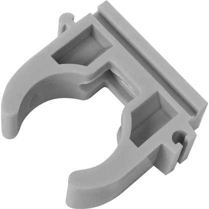 Крепеж трубы FV-Plast -Plast 25 мм полипропилен цвет серый