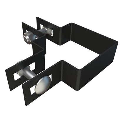 Крепежный хомут угловой 60х60 мм цинк