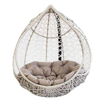 Купить Кресло подвесное Марокко цвет серый (без опоры) дешевле
