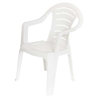 Купить Кресло садовое белое 567x825x578 мм пластик дешевле