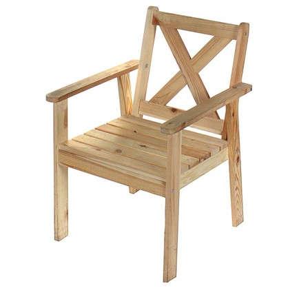 Купить Кресло садовое Копенгаген Тренд 590x860x610 мм дерево дешевле