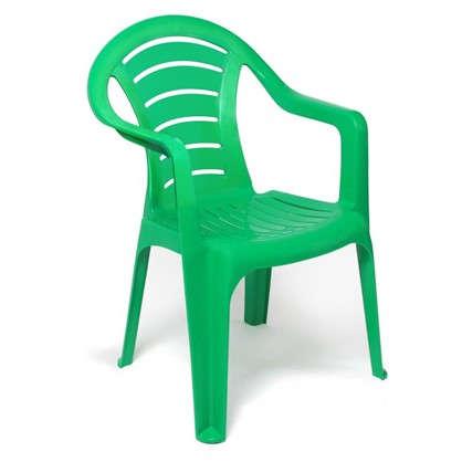 Купить Кресло садовое зелёное 567x825x578 мм пластик дешевле