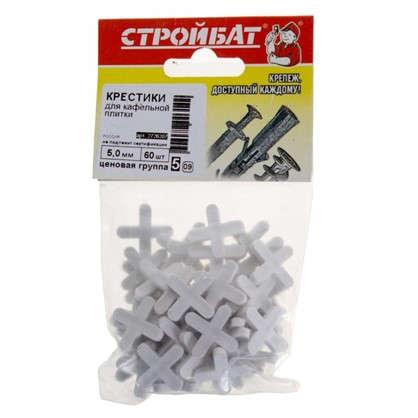 Крестики для кафельной плитки 5 мм 60 шт.