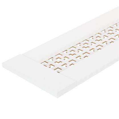 Купить Крышка для экрана Конструктор 50х17 см цвет белый дешевле