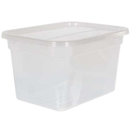 Купить Крышка для ящика многофункциональная 51х2x38 см пластик цвет прозрачный дешевле