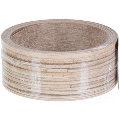 Купить Кромка №134 без клея для плинтуса 305х3.2 см цвет дерево дешевле