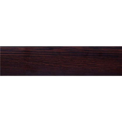 Купить Кромка №199 без клея для плинтуса 305х3.2 см цвет черный/коричневый дешевле