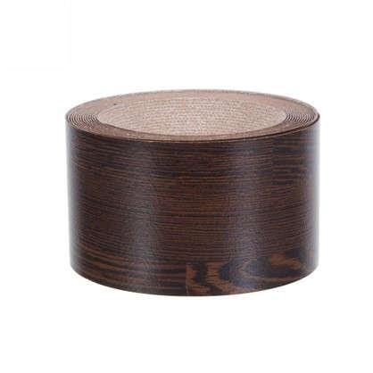 Кромка №199 с клеем для столешницы 305х4.2 см цвет черный/коричневый